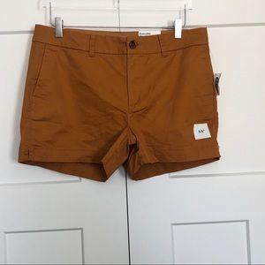 NEW   Old Navy Marigold Khaki Chino Shorts